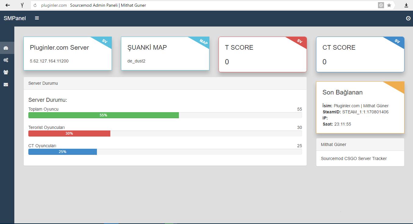 CS:GO] SMPanel Web Interface - AlliedModders
