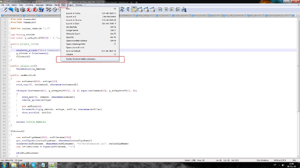 TUT] Compiling AMXX plugins with Notepad++ - AlliedModders