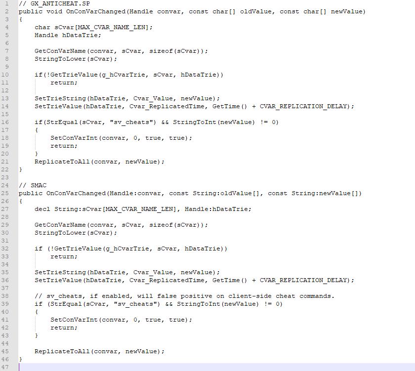 CS:GO] [G]amerX Anti-Cheat (Copy Pasta of Cow Anti-Cheat