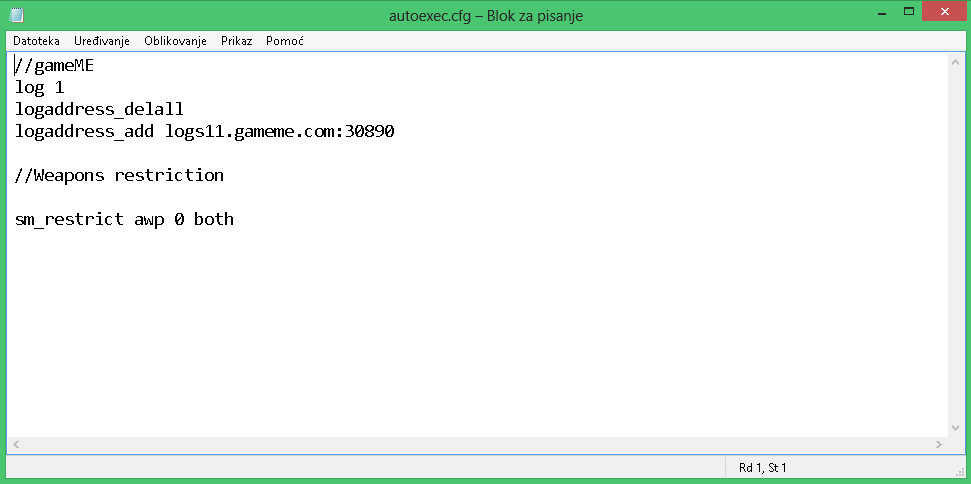 Here Is My Autoexec Cfg