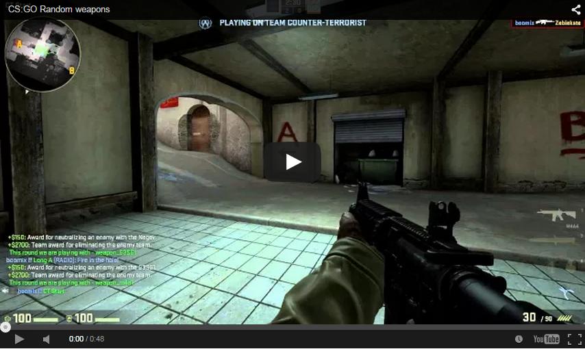CS:GO] Random weapon rounds - AlliedModders